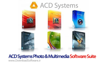 دانلود ACD Systems Photo & Multimedia Software Suite مجموعه نرم افزارهای ACD