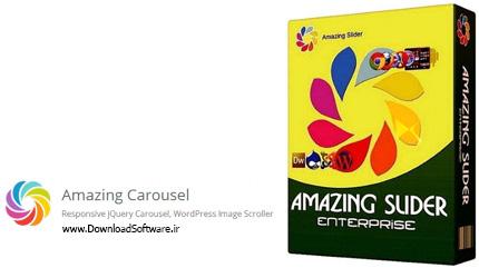 دانلود Amazing Carousel Enterprise – ساخت اسلایدر دایره ای جی کوئری