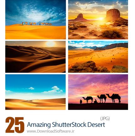 دانلود تصاویر با کیفیت صحرا، بیابان، دشت از شاتر استوک - Amazing ShutterStock Desert