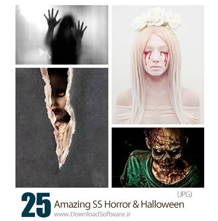 دانلود تصاویر با کیفیت وحشتناک هالووین از شاتر استوک - Amazing ShutterStock Horror And Halloween