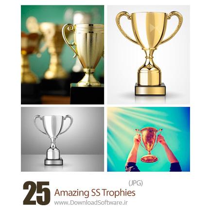 دانلود تصاویر با کیفیت جایزه، کاپ طلا از شاتر استوک - Amazing ShutterStock Trophies