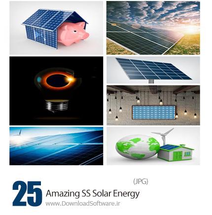دانلود تصاویر با کیفیت انرژی های جایگزین، خورشید، باد، سوخت خورشیدی از شاتراستوک - Amazing Shutterstock Solar Energy