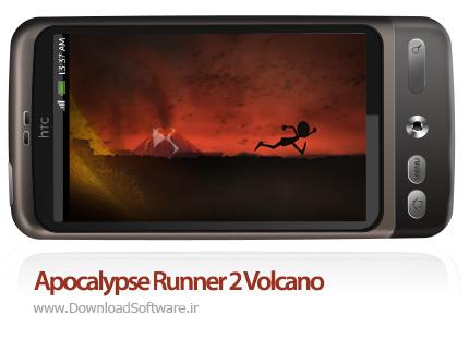 دانلود بازی Apocalypse Runner 2 Volcano – دونده آخرالزمان 2 برای اندروید