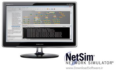 دانلود Boson Netsim Network Simulator – نرم افزار شبیه سازی شبکه
