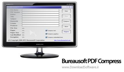 دانلود Bureausoft PDF Compress نرم افزار فشرده سازی PDF