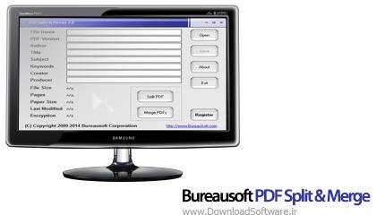 دانلود Bureausoft PDF Split & Merge نرم افزار ترکیب و ادغام PDF