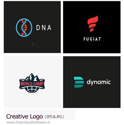 دانلود تصاویر وکتور آرم و لوگوی خلاقانه - Creative Logo