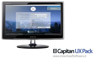 دانلود El Capitan UX Pack نرم افزار تم El Capitan مک برای ویندوز