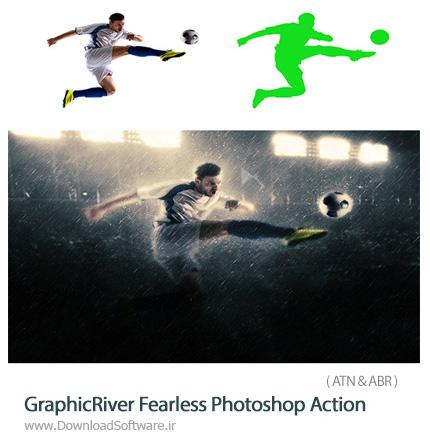 دانلود اکشن فتوشاپ ایجاد افکت صحنه ترسناک و تاریک بر روی تصاویر از گرافیک ریور - GraphicRiver Fearless Photoshop Action