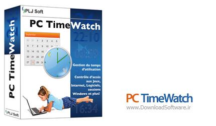 دانلود PC TimeWatch - نرم افزار ایجاد زمان بندی برای استفاده از کامپیوتر