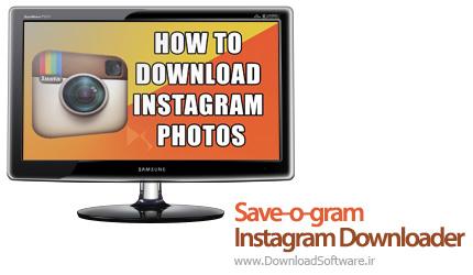 دانلود Save-o-gram Instagram Downloader نرم افزار دانلود تصاویر اینستاگرام