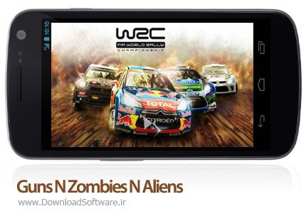 دانلود بازی Guns N Zombies N Aliens برای PC