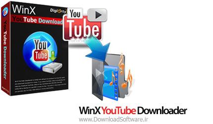 دانلود WinX YouTube Downloader نرم افزار دانلودر یوتیوب
