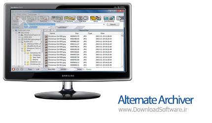 دانلود Alternate Archiver نرم افزار مدیریت فایل جدید