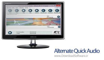 دانلود Alternate Quick Audio نرم افزار کار با فایل های صوتی