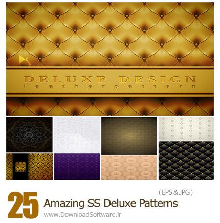 دانلود تصاویر وکتور پترن های لوکس از شاتر استوک - Amazing ShutterStock Deluxe Patterns