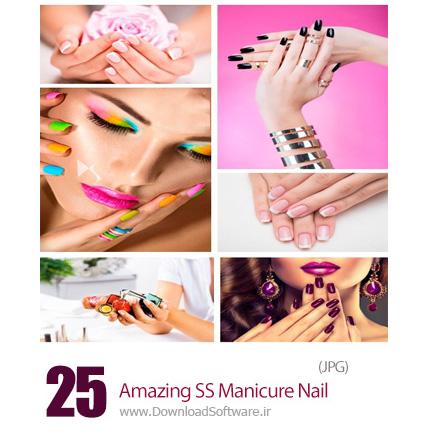 دانلود تصاویر با کیفیت مانیکور ناخن، طراحی ناخن، لاک از شاتراستوک - Amazing ShutterStock Manicure Nail