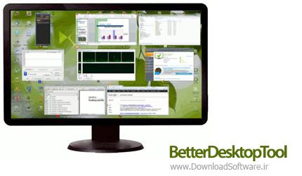 دانلود BetterDesktopTool نرم افزار کار با پنجره های مختلف در دسکتاپ
