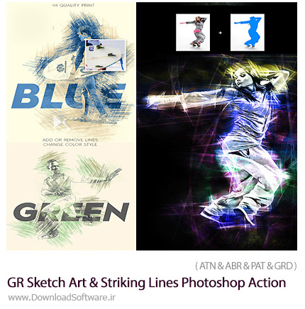 Graphicriver-Sketch-Art-And-Striking-Lines-Photoshop-Action