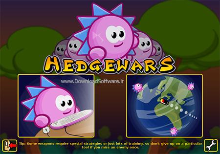 دانلود بازی Hedgewars برای PC