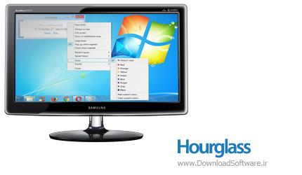 دانلود Hourglass نرم افزار ویرایشگر فایل های صوتی