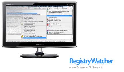 دانلود Registry Watcher نرم افزار کار با رجیستری
