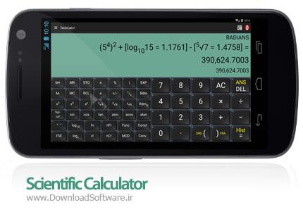 دانلود Scientific Calculator (adfree) – ماشین حساب مهندسی اندروید