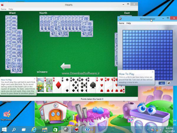 دانلود بازی Windows 7 games for Windows 10 برای کامپیوتر