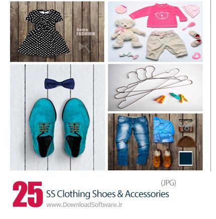 دانلود تصاویر با کیفیت لباس، کیف و کفش و لوازم جانبی از شاتر استوک - Amazing ShutterStock Clothing Shoes And Accessories