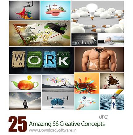 دانلود تصاویر هنری خلاقانه و ابتکاری از شاتر استوک - Amazing ShutterStock Creative Concepts