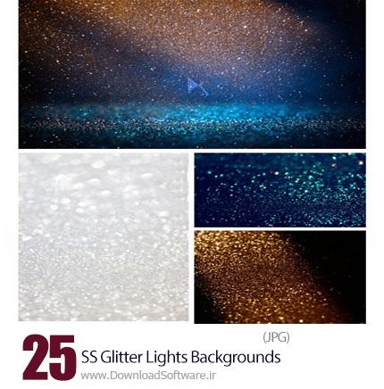 دانلود تصاویر با کیفیت پس زمینه های پر زرق برق نورانی از شاتر استوک - Amazing ShutterStock Glitter Lights Backgrounds