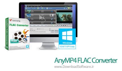 دانلود AnyMP4 FLAC Converter نرم افزار مبدل FLAC