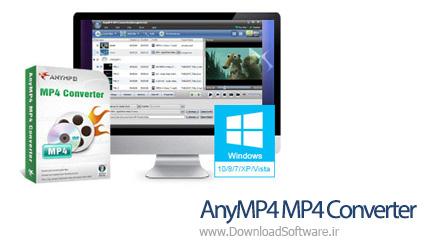دانلود AnyMP4 MP4 Converter نرم افزار مبدل فرمت MP4
