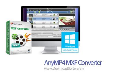 دانلود AnyMP4 MXF Converter نرم افزار مبدل فایل های MXF