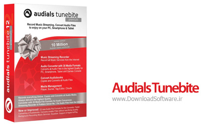 دانلود نرم افزار Audials Tunebite Platinum - نرم افزار حذف کپی رایت CD و DVD