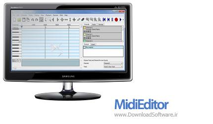 دانلود MidiEditor نرم افزار ویرایش فایل های Midi
