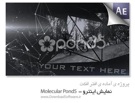 دانلود پروژه آماده افترافکت - نمایش اینترو - Molecular Pond5