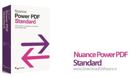 دانلود Nuance Power PDF Standard نرم افزار ابزار کار با PDF