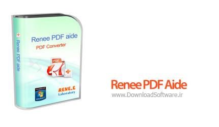 دانلود نرم افزار Renee PDF Aide - نرم افزار تبدیل فایل پی دی اف
