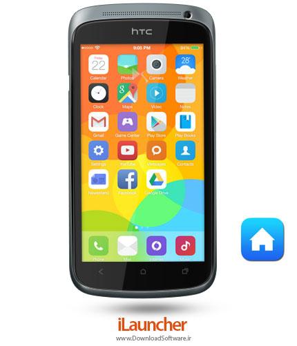 دانلود iLauncher – لانچر زیبای گوشی های اپل برای اندروید