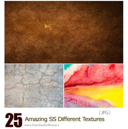 دانلود تصاویر تکسچر با طرح های متنوع از شاتر استوک - Amazing ShutterStock Different Textures