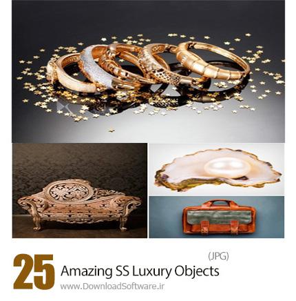دانلود تصاویر با کیفیت اشیاء لوکس زیور آلات، مبلمان، لوستر و اسباب لاکچری از شاتر استوک - Amazing ShutterStock Luxury Objects