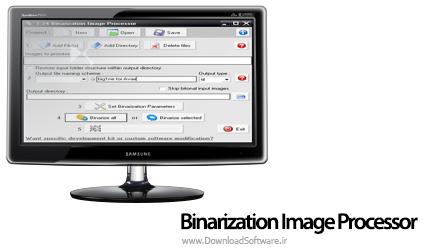 دانلود Binarization Image Processor نرم افزار پردازش تصویر