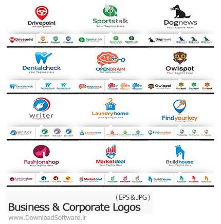 دانلود تصاویر وکتور آرم و لوگوی تجاری و شرکت های بزرگ - Business And Corporate Logos