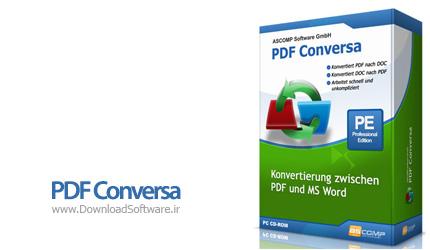 دانلود PDF Conversa Pro Edition نرم افزار تبدیل اسناد PDF به ورد