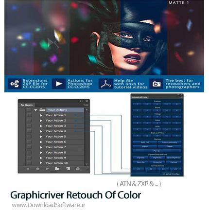 دانلود پنل و اکشن فتوشاپ روتوش رنگ های عکس - Photoshop Creative Annual