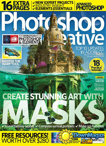 دانلود مجلات آموزش فتوشاپ - Photoshop Creative - Issue 135, 2016
