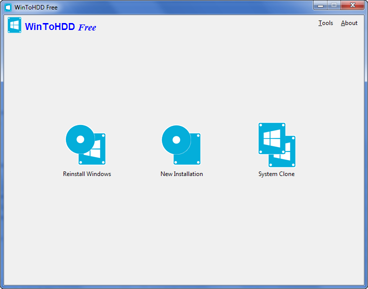 دانلود نرم افزار WinToHDD - برنامه نصب ویندوز بدون CD