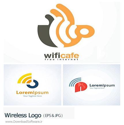 دانلود تصاویر وکتور آرم و لوگوی وایرلس - Wireless Logo