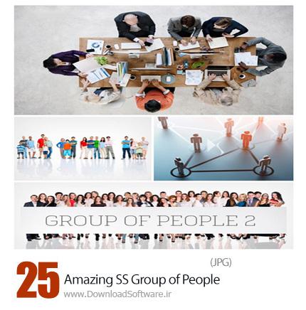 دانلود تصاویر با کیفیت گروهای مختلف مردم از شاتر استوک - Amazing ShutterStock Group of People